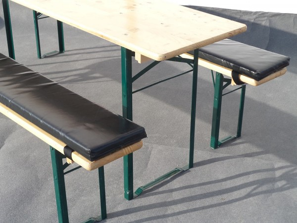 Sitzauflage für Bierzeltgarnituren mieten