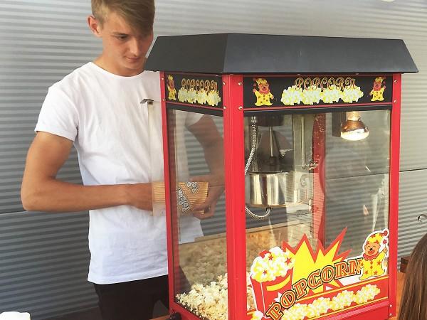 Popcornmaschine mieten Berlin