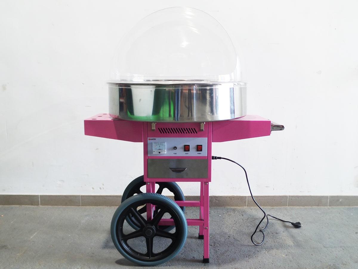 zuckerwattemaschine mit nostalgiewagen mieten preiswert vom berliner h pfburg verleih lecker. Black Bedroom Furniture Sets. Home Design Ideas