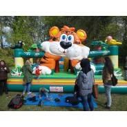 Hüpfburg Big Tiger