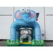 Hüpfburg Mini Elefant mieten