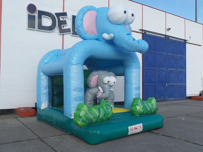 Hüpfburg Mini Elefant leihen