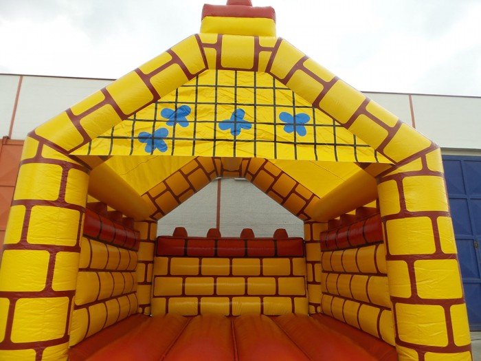 Hüpfburg New Castle mieten