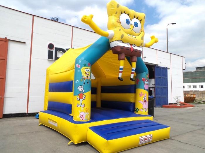 Hüpfburg Spongebob mieten